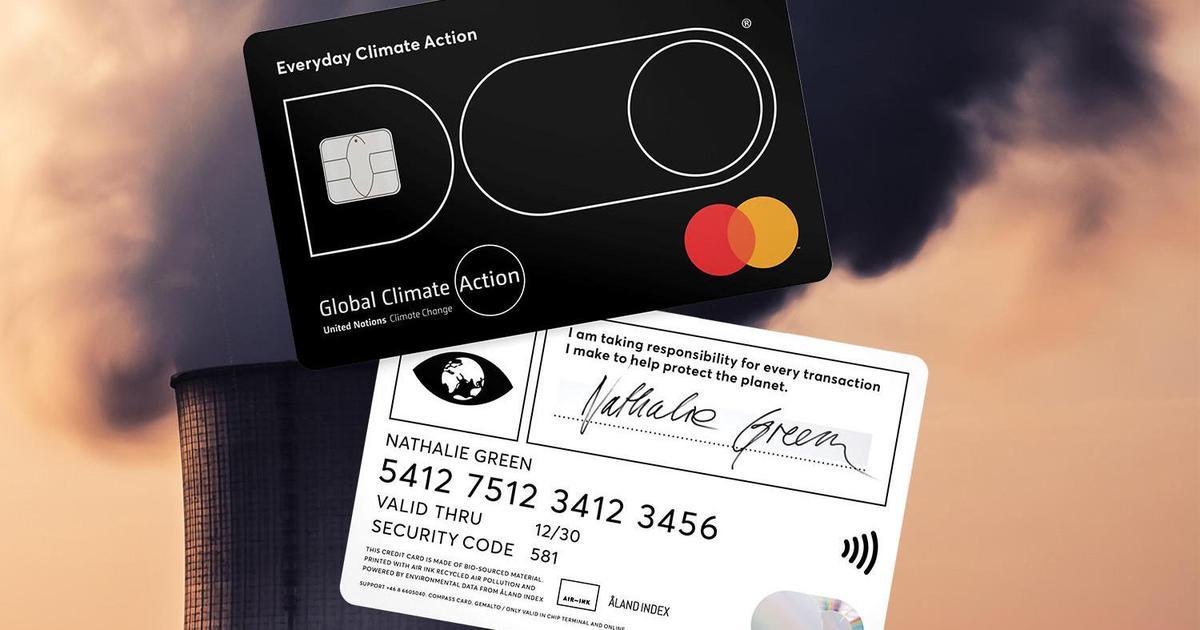 Кредитная карточка, которая лимитирует выбросы СО2, получила Гран-при Creative eCommerce