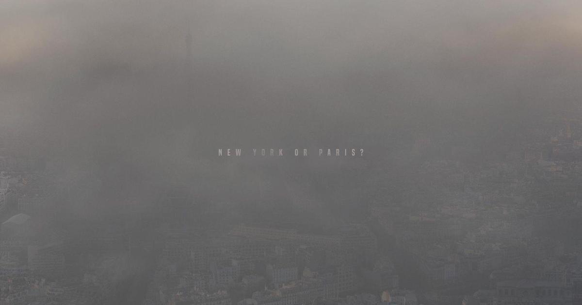 Нью-Йорк или Париж? Серия принтов от Greenpeace указывает на проблему загрязнения воздуха