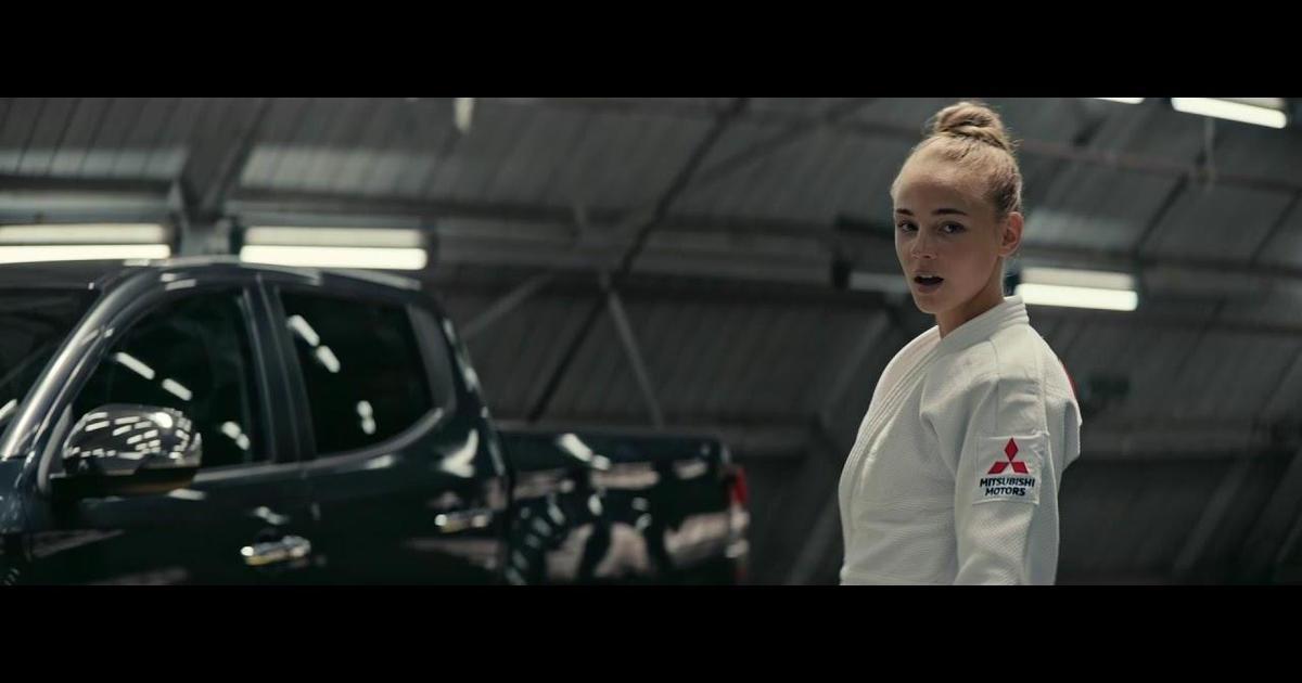 Чемпионка мира по дзюдо Дарья Билодид расскажет, как вести себя за рулем, в рекламе Mitsubishi