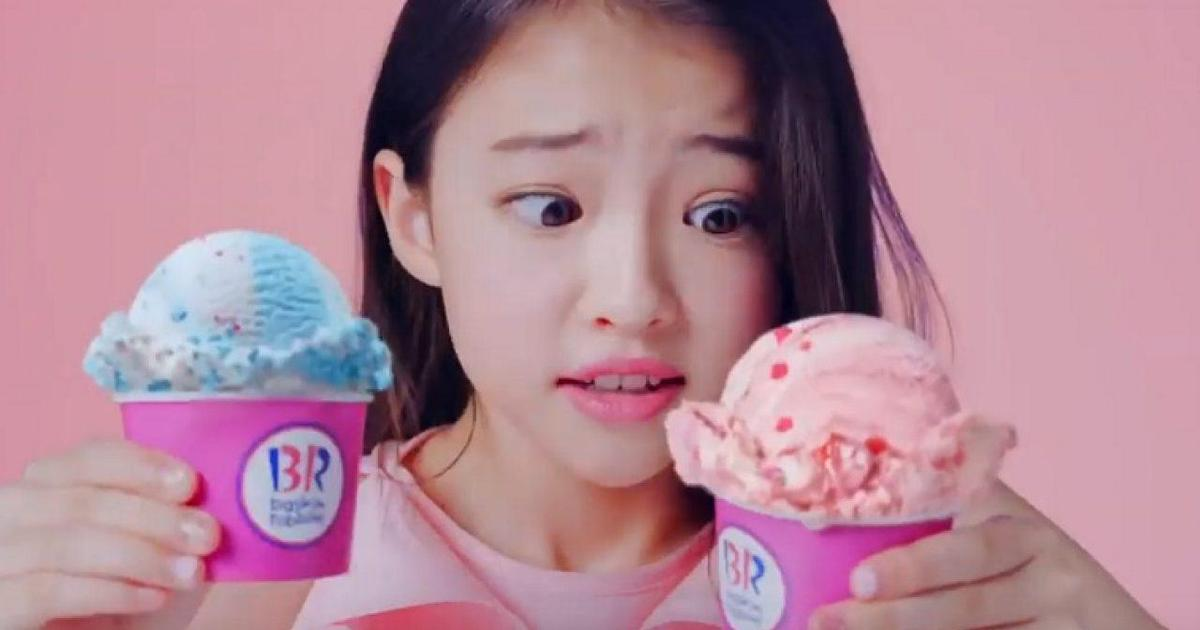 Baskin-Robbins раскритиковали за сексуализацию 11-летней модели в рекламе
