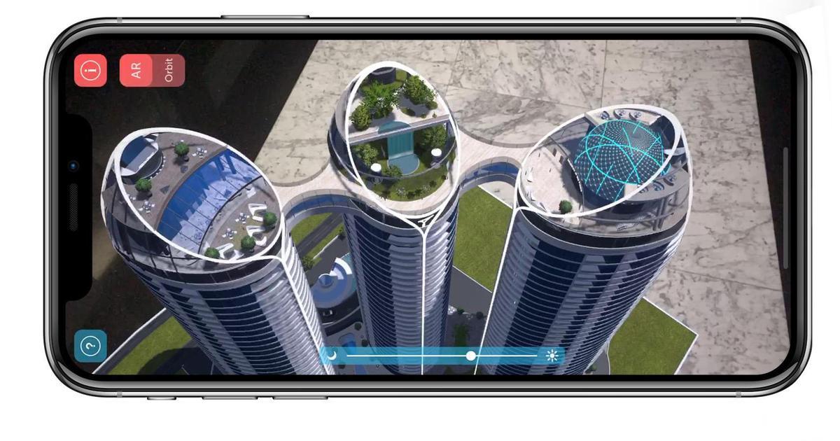 Taryan Group выпустила AR-приложение с виртуальным макетом жилого комплекса Taryan Towers