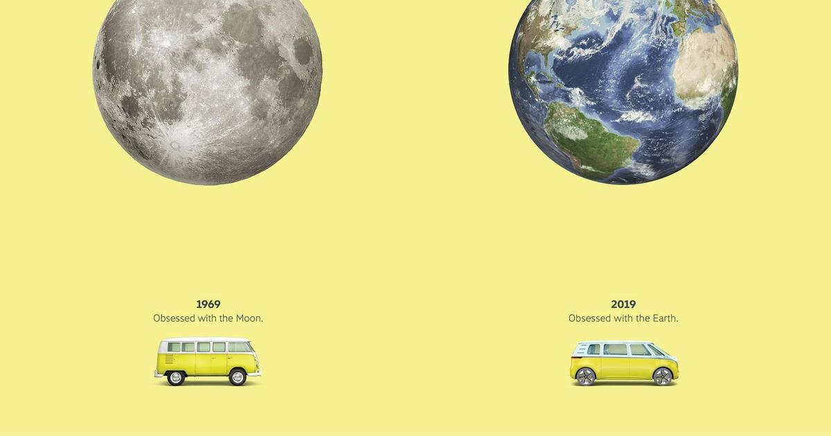 Volkswagen сравнил высадку на Луну с электрификацией Земли