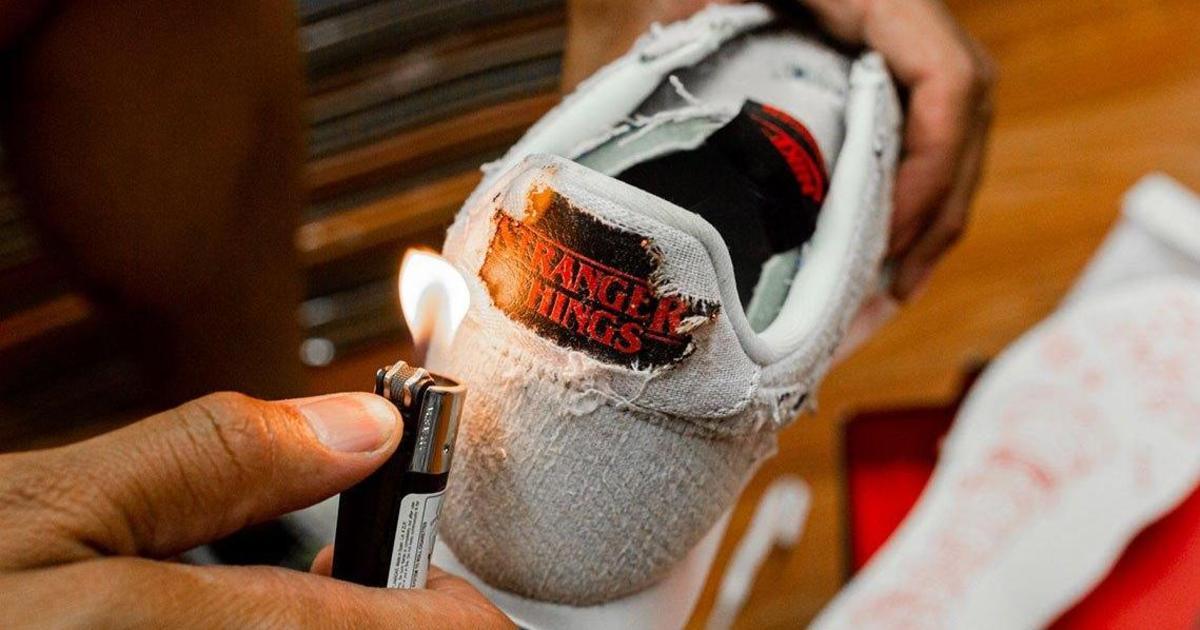 Nike выпустил кроссовки в честь «Очень странных дел» со скрытыми сообщениями