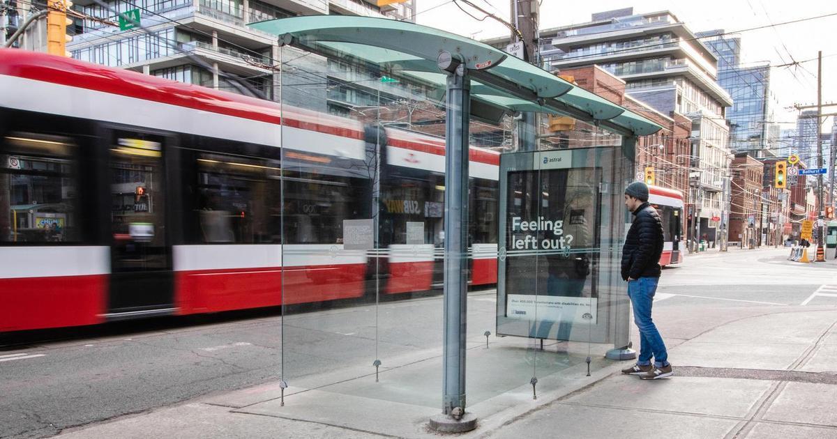 В Торонто поставили остановку, в которую нельзя войти