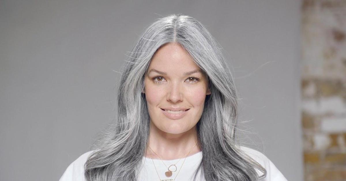Pantene запустил кампанию в поддержку седых волос