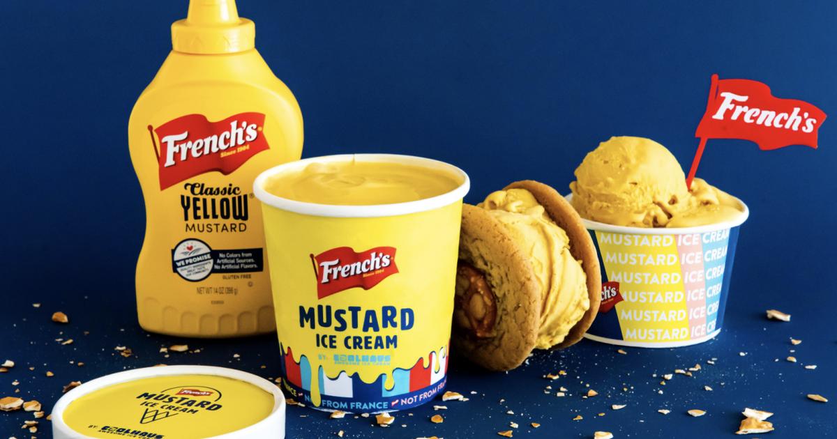Бренд горчицы выпустил мороженое со вкусом горчицы
