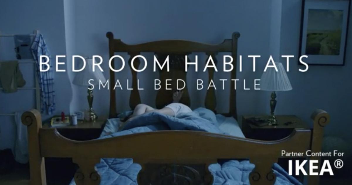 Ikea и National Geographic показали сложную среду обитания для людей — спальню