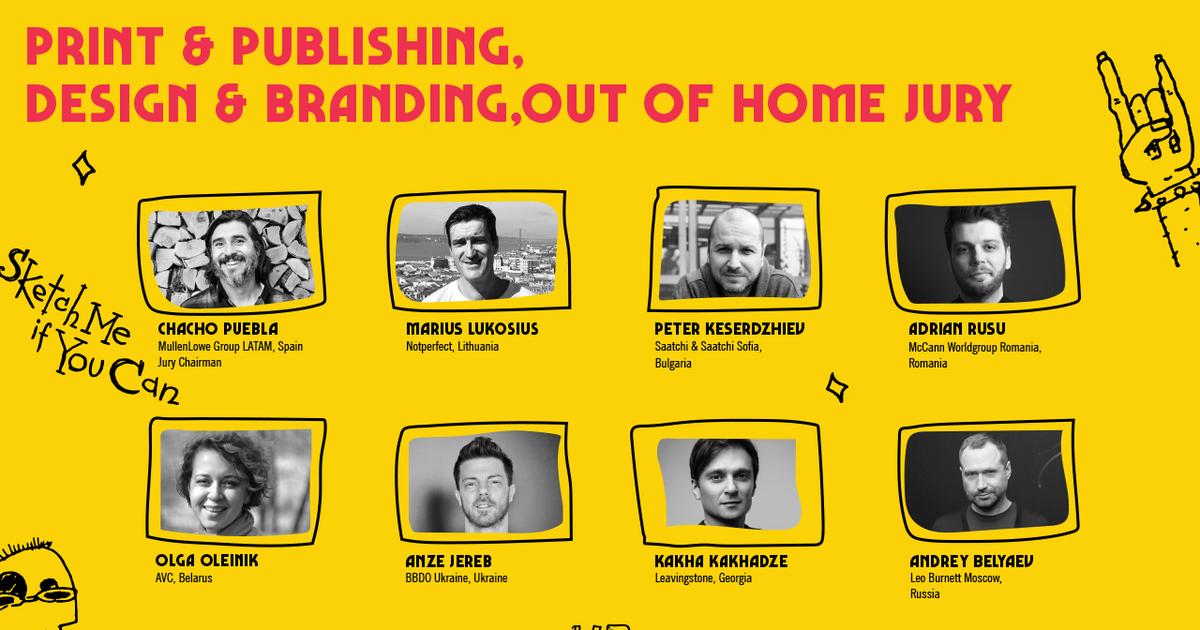 Ad Black Sea оголошує команду журі категорій Print & Publishing, Design & Branding, Out of Home