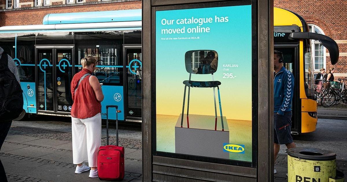 Ikea рассказала об отказе от бумажного каталога с помощью умного outdoor