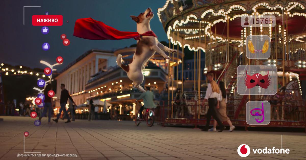 Vodafone предлагает сэкономить на  Samsung Galaxy А30 в новом ролике