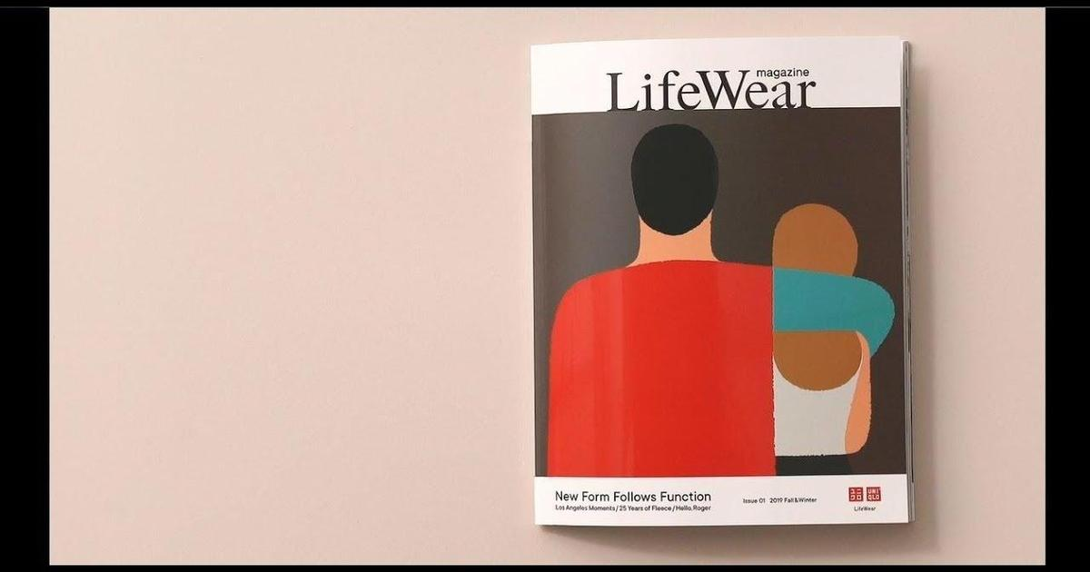 Uniqlo выпустил первый печатный журнал для осенней коллекции