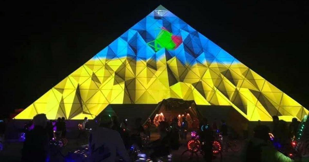 Українська інсталяція потрапила у топ кращих робіт Burning Man 2019
