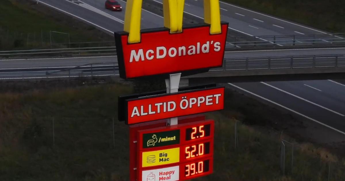 McDonald's в Швеции превратил свои вывески в указатели для зарядки электромобилей