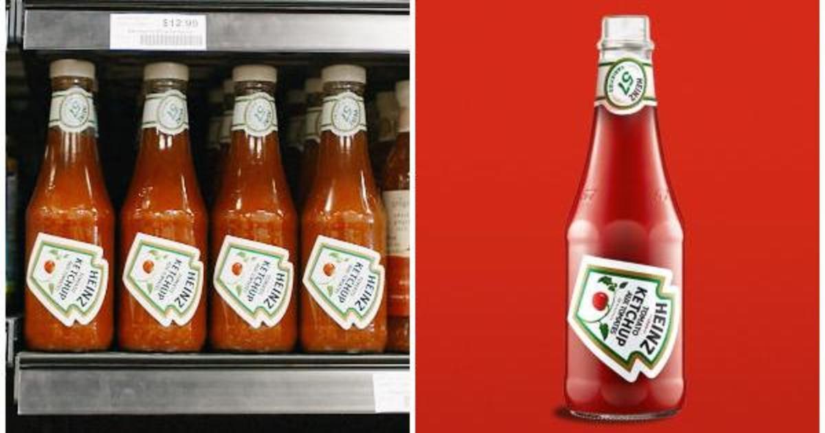 Этикетки Heinz показали, как правильно налить соус