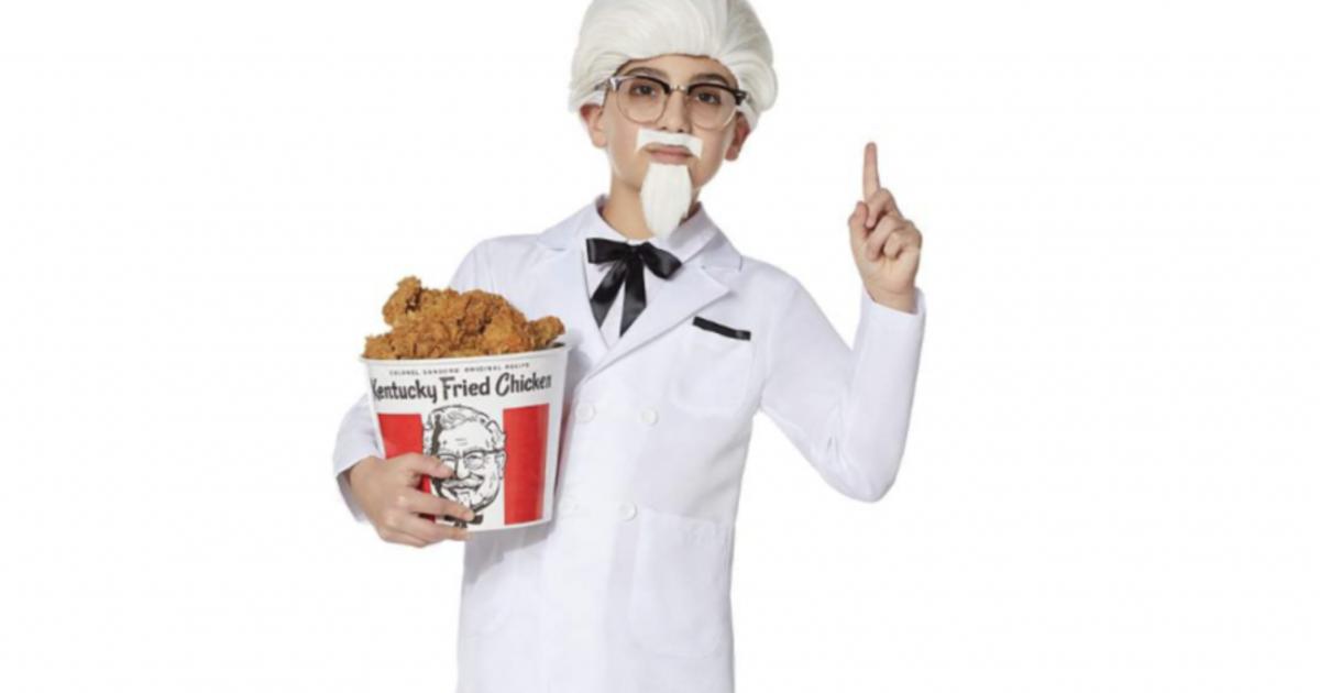 KFC вдохновляет нарядиться в Полковника Сандерса на Хэллоуин