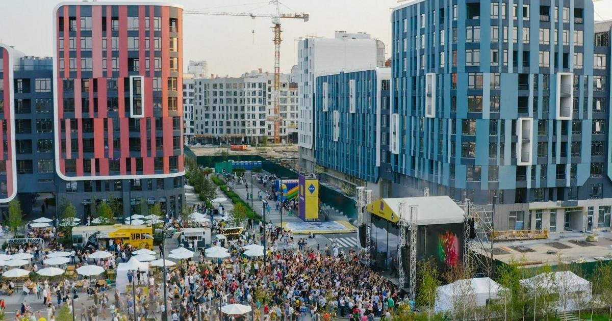 Девелопер KAN открыл самый большой ЖК в Украине и попал на презентацию Apple