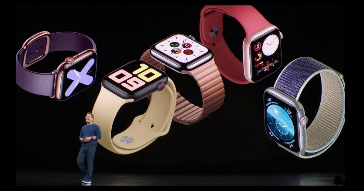 Apple Watch Series 5 получили встроенный компас