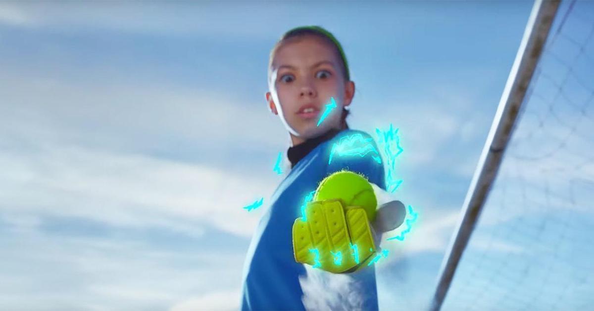 Nike вдохновляет девочек быть активными в новой кампании