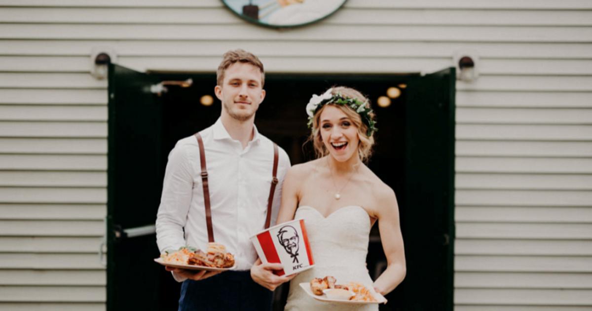 KFC запустил свадебный сервис в Австралии