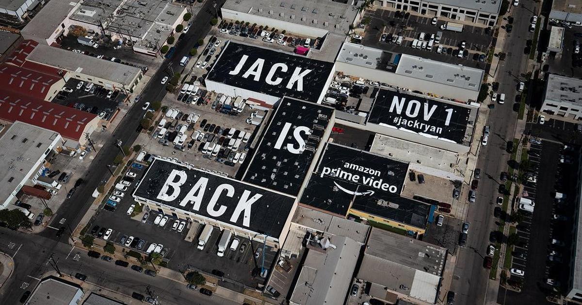 Amazon анонсировал выход сериала с помощью самой большой рекламы на крыше