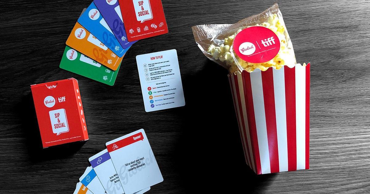 Grolsch создал карточную игру на тему кино для гостей кинофестиваля в Торонто
