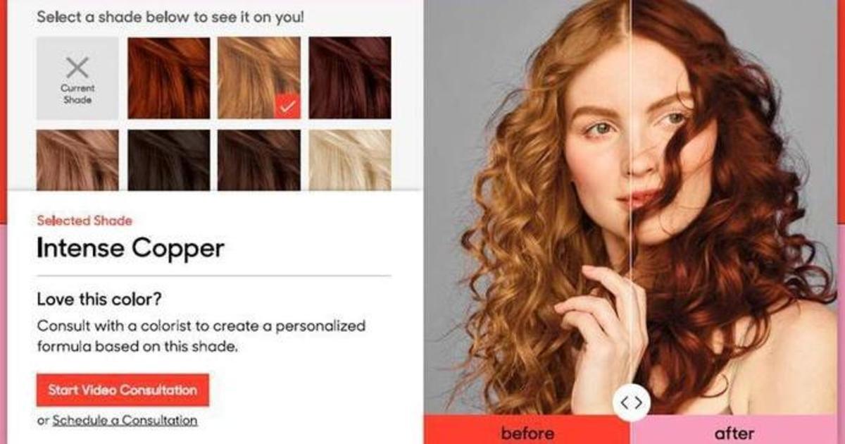 Бренд L'Oréal добавил AR-инструмент для виртуального подбора краски для волос