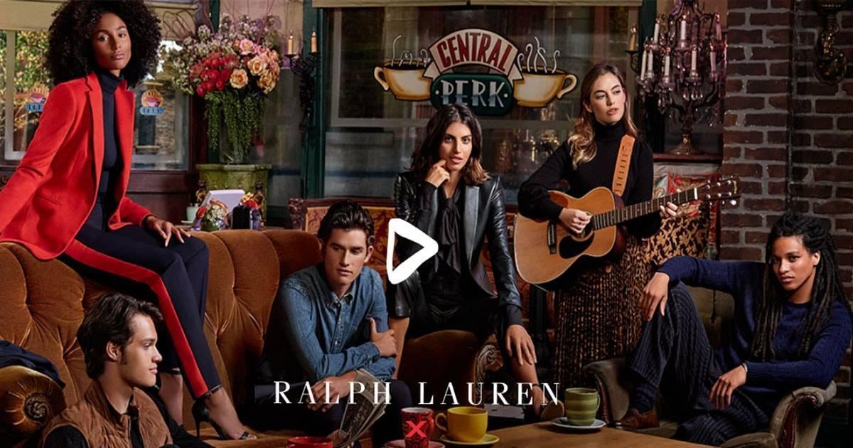 Ralph Lauren выпустил коллекцию, вдохновленную Рэйчел Грин из «Друзей»