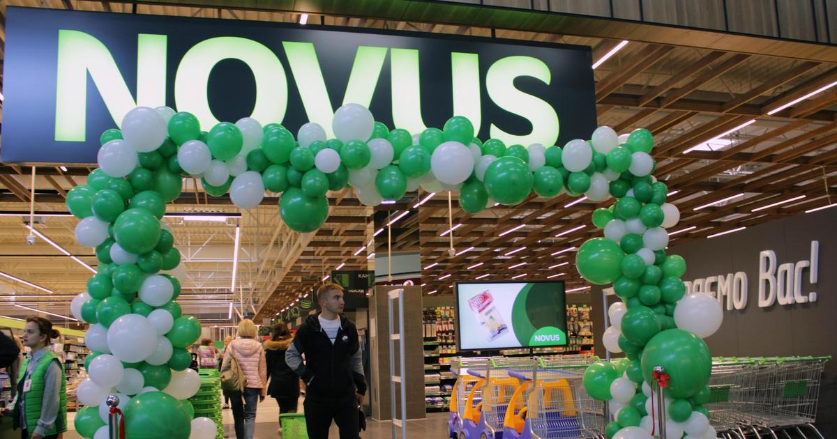 Novus відкрив супермаркет у ТРЦ Skymall