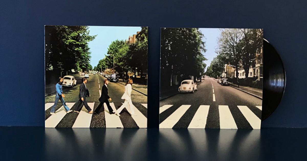 Volkswagen «перепарковал» автомобиль на знаменитой обложке альбома Beatles