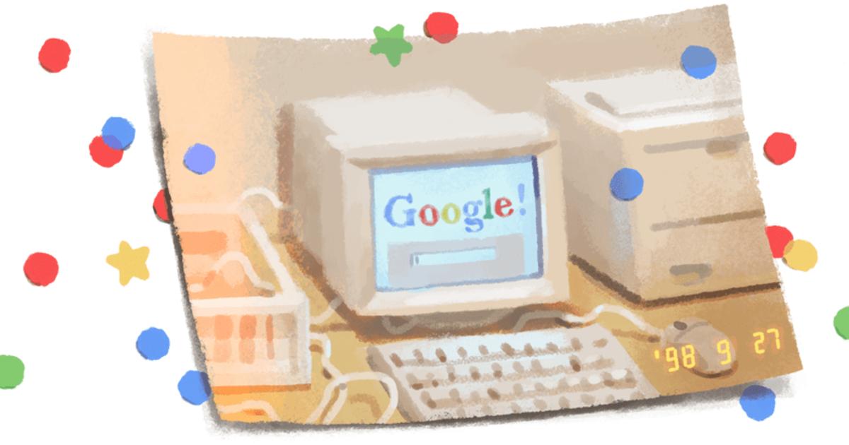 Google празднует 21-летие
