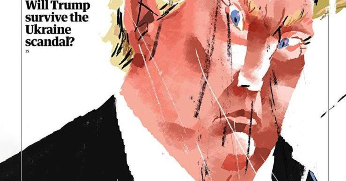 Работы украинского художника украсили обложки The Guardian Weekly