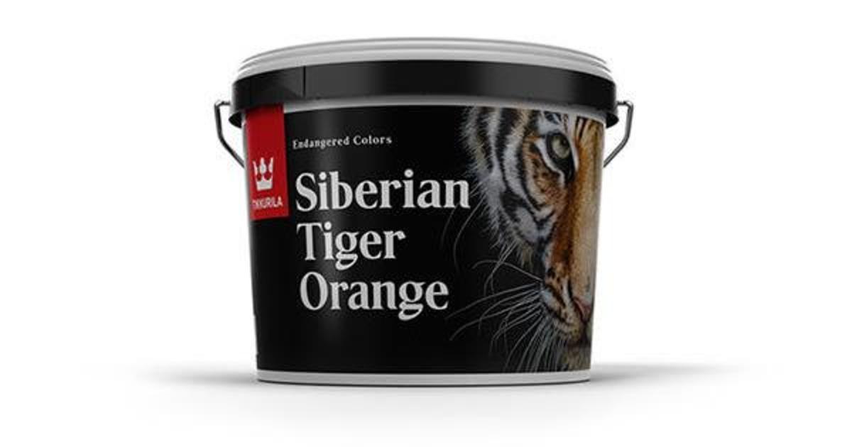 Tikkurila выпустила новую коллекцию красок для защиты животных на грани исчезновения