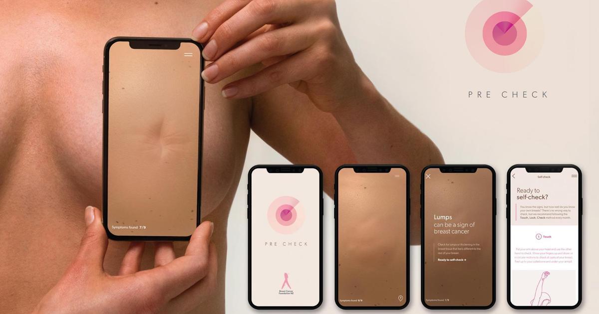 Colenso BBDO выпустили интерактивное приложение, которое помогает выявить рак груди