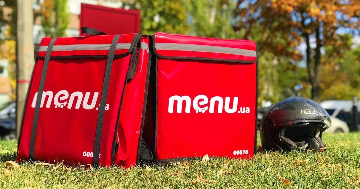 В Києві запрацювала служба доставки їжі Menu.ua