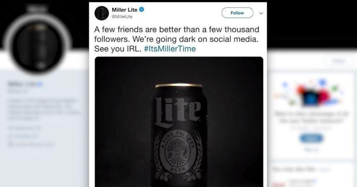 Miller Lite призвал пользователей отписаться от бренда в сетях ради промо нового продукта
