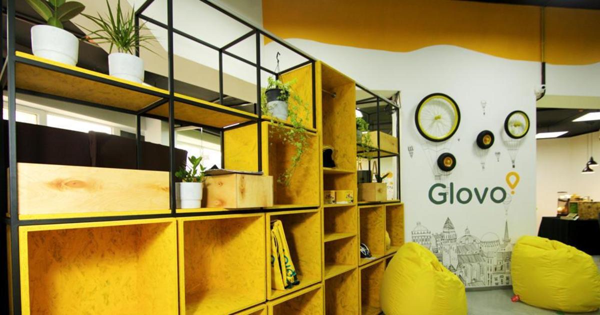 Компания Glovo открыла спейс для подключенных к платформе курьеров