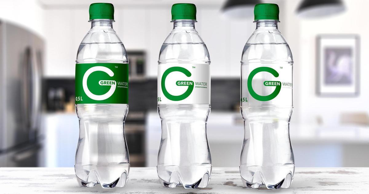 В Україні створили новий бренд води «Green Water», який схвалила би сама Грета Тунберг
