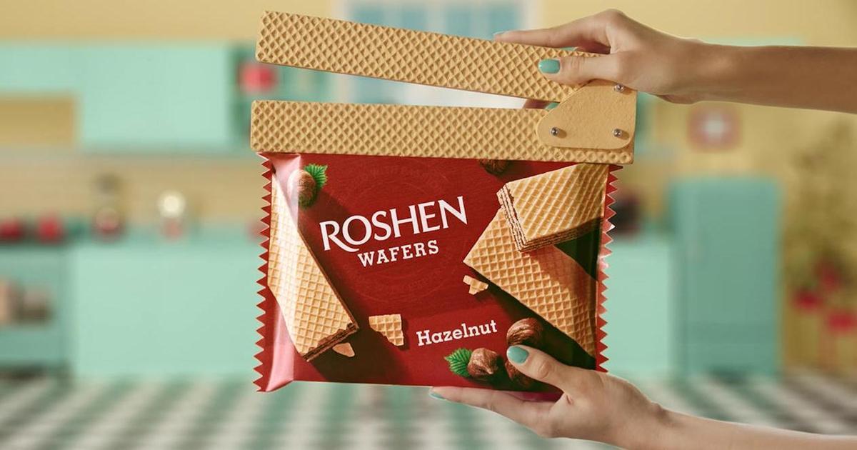 Roshen закликала легко ставитися до життя в кампанії для бренда вафель Wafers