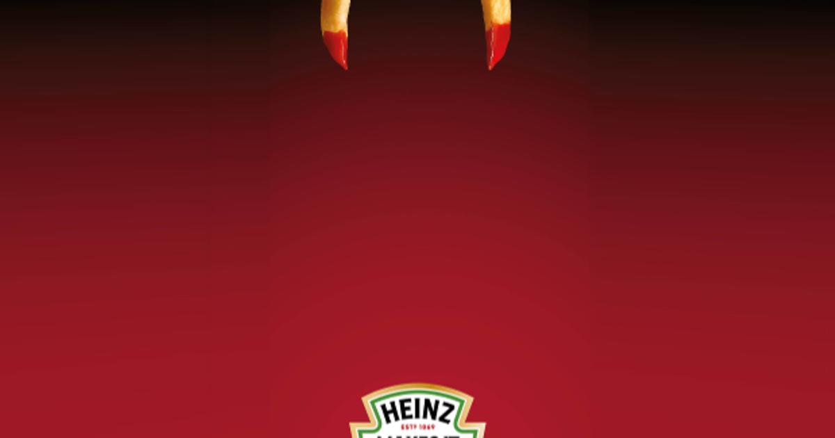 Heinz отметил Хэллоуин с помощью минималистичного дизайна