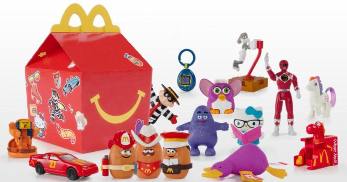 До 40-річчя Хеппі Міл МакДональдз представив лімітовану колекцію найлегендарніших ретро-іграшок