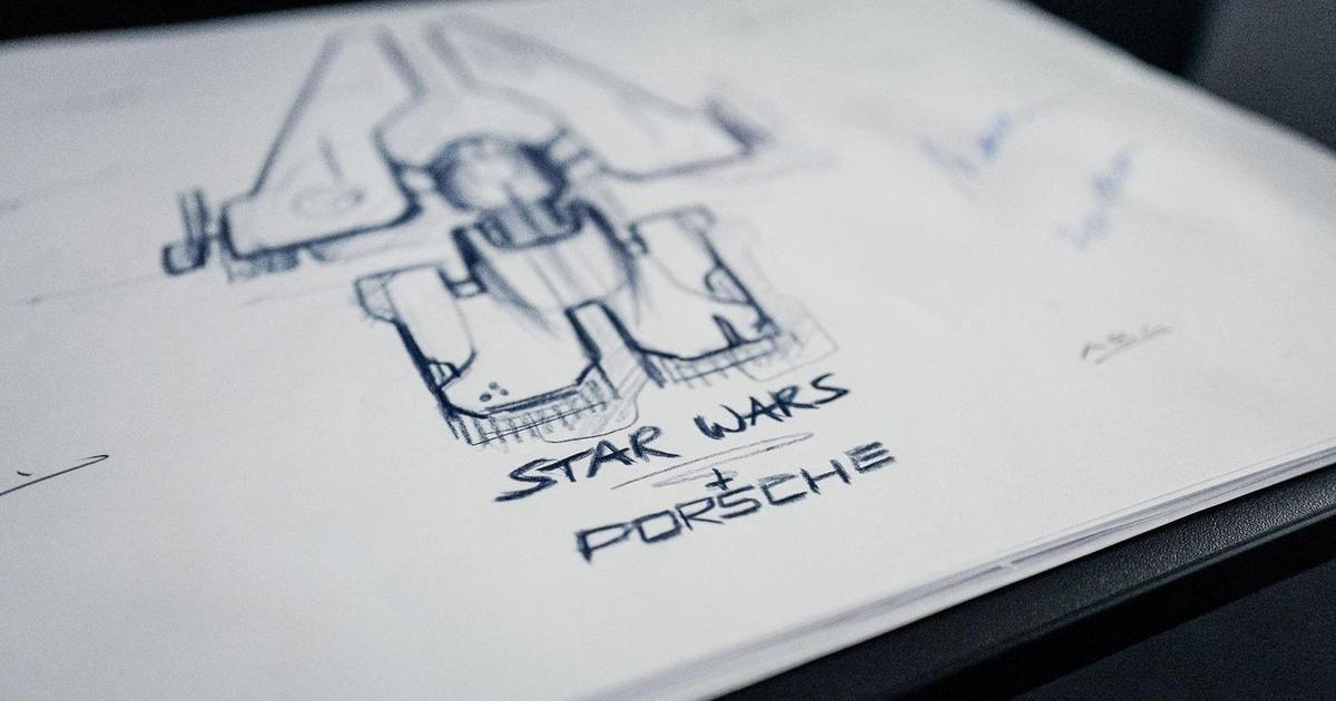 Porsche и Lucasfilm вместе работают над дизайном звездолета