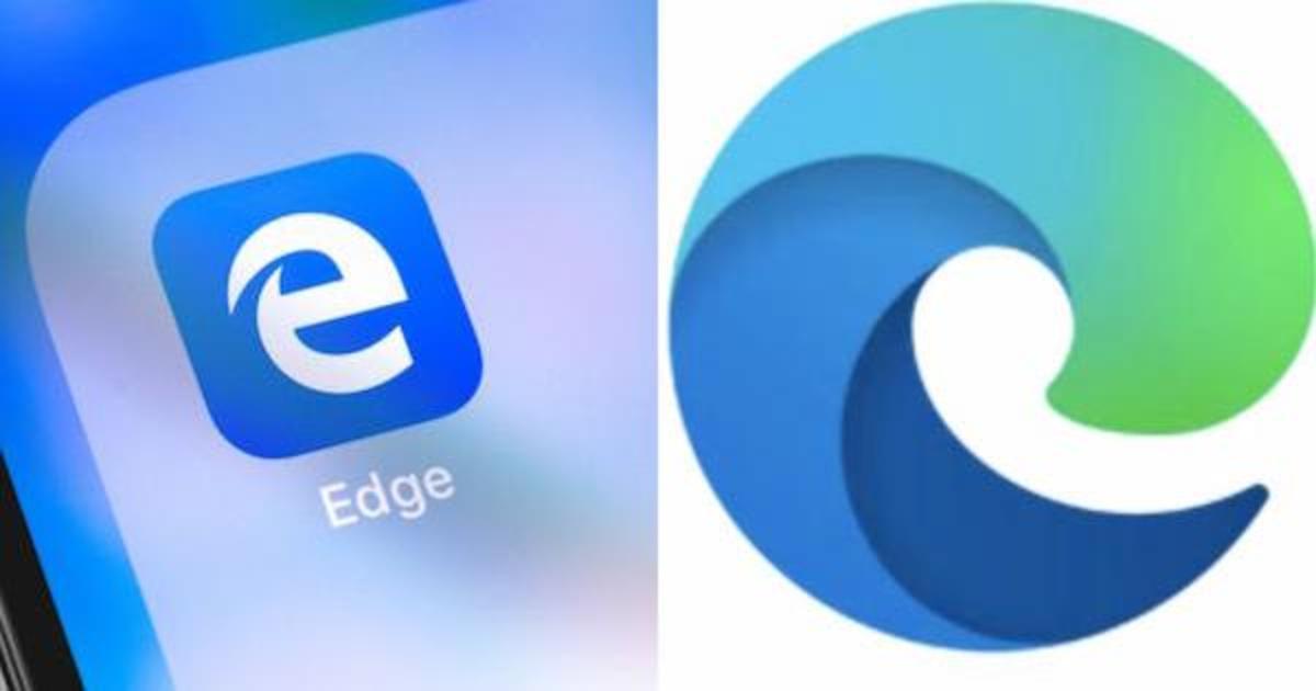 Пользователи посмеялись над обновленным логотипом Microsoft Edge