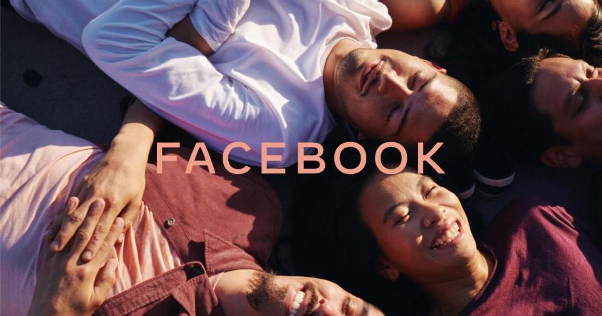 Facebook представил первый корпоративный логотип