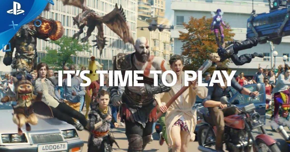 В Киеве сняли ролик для Sony PlayStation 4