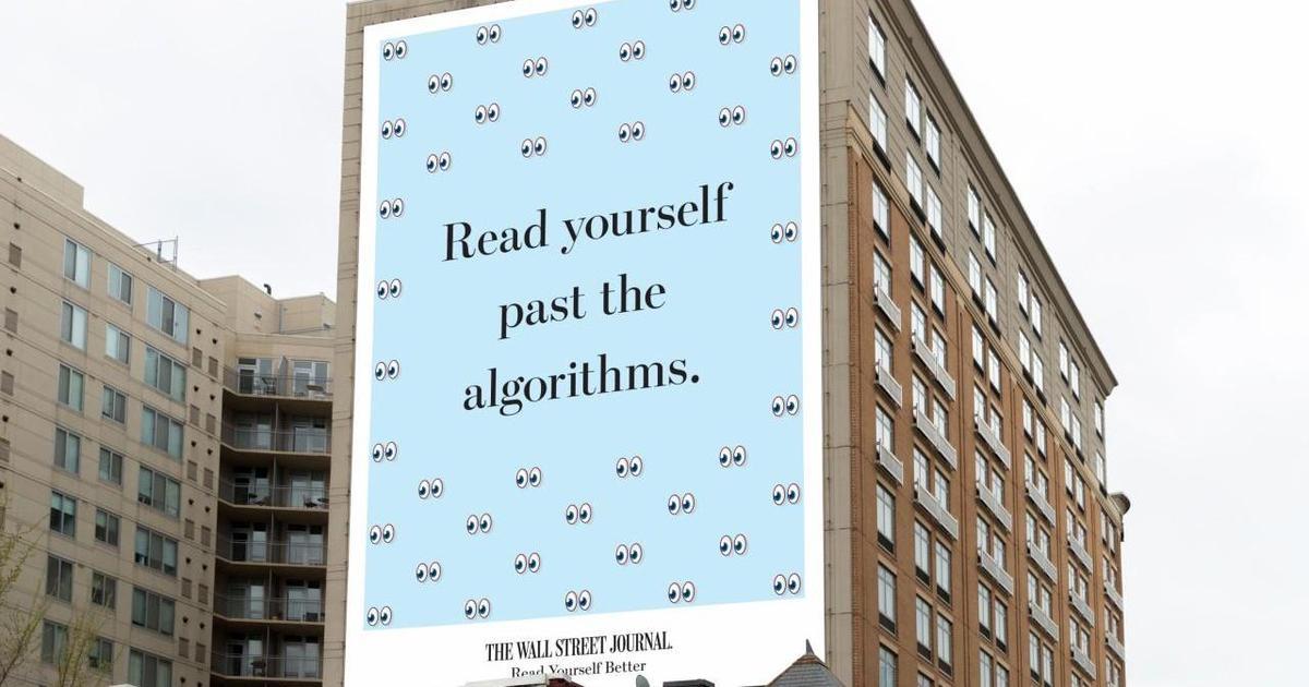 The Wall Street Journal продвигает качественную журналистику в новой кампании