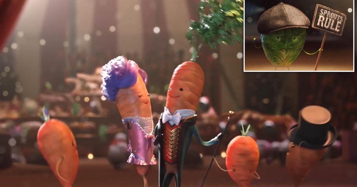 Aldi спародировала «Величайшего шоумена» в рождественском ролике