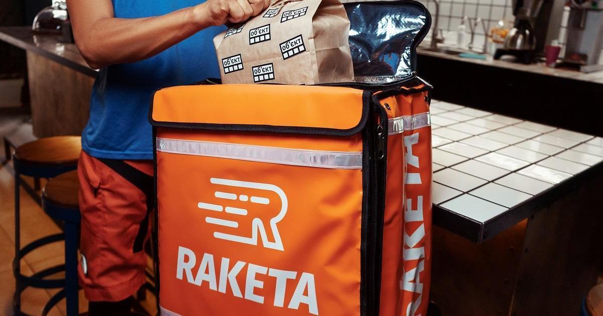 Сервіс доставки їжі Raketa починає роботу в Києві