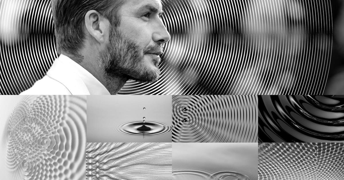 Круги на воде: новый дизайн аромата David Beckham Respect
