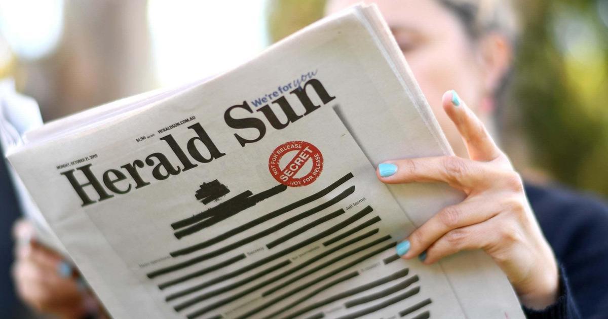 Печатные медиа против цензуры. Креативная подборка кампаний