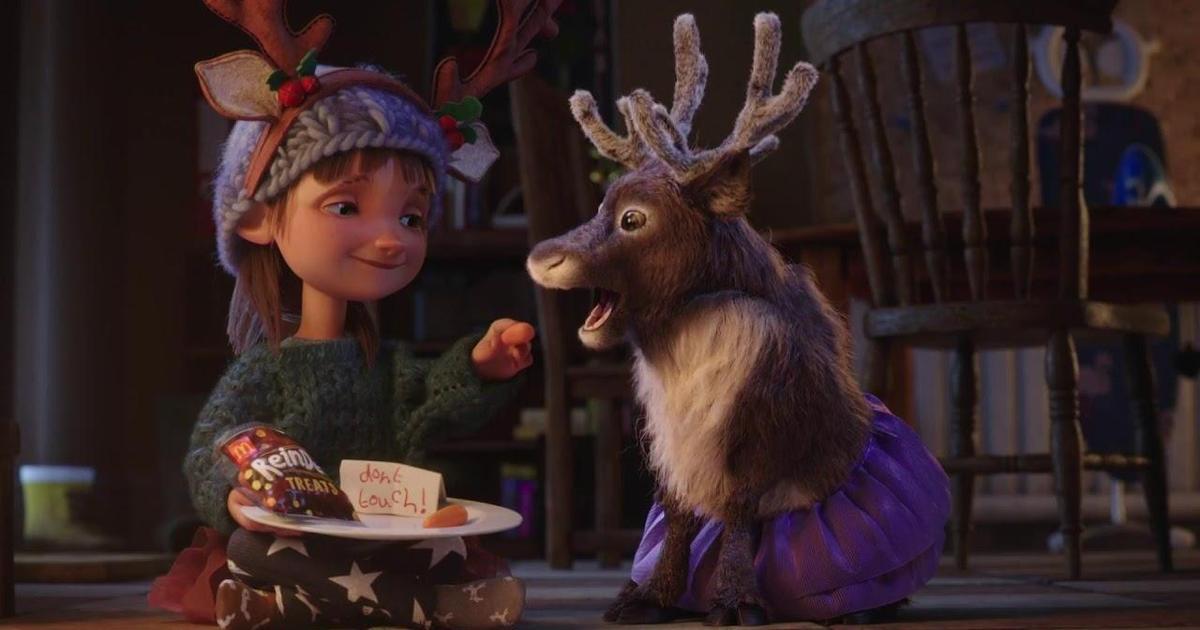 McDonald's выпустил анимационную рождественскую сказку о девочке и ее друге